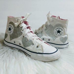 Converse  All Star High Top Canvas Shoes Size 2